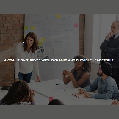 Leading effective coalitions