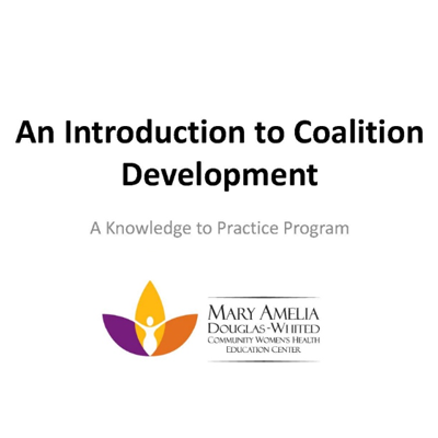 An introduction to coalition development