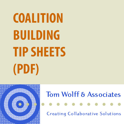 Coalition tip sheets