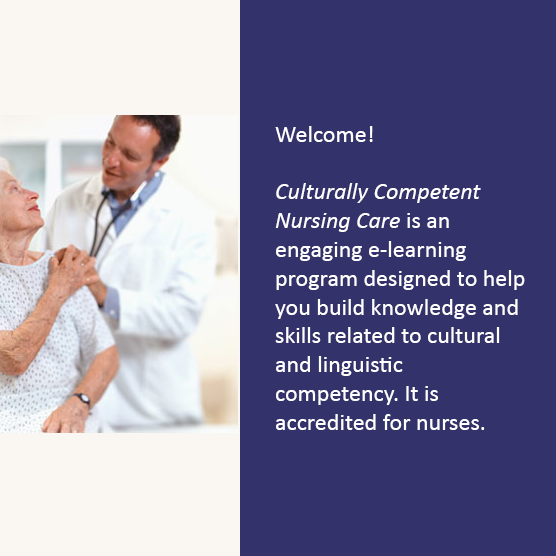 Culturally competent nursing care