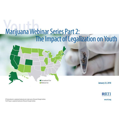 Impact of legalization on youth